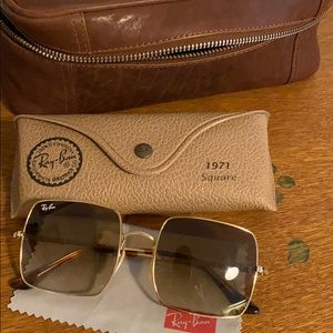 Ray ban 1971 square glasses